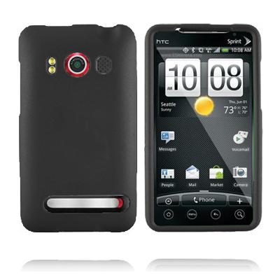 Mjukskal (Svart) HTC Evo 4G Skal