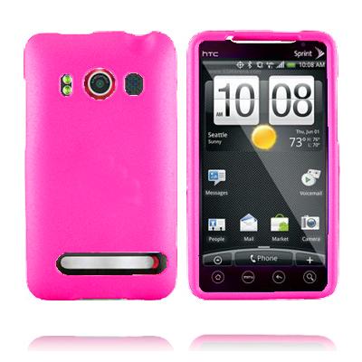 Mjukskal (Het Rosa) HTC Evo 4G Skal