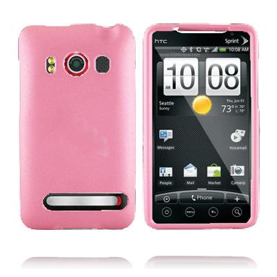 Mjukskal (Ljusrosa) HTC Evo 4G Skal