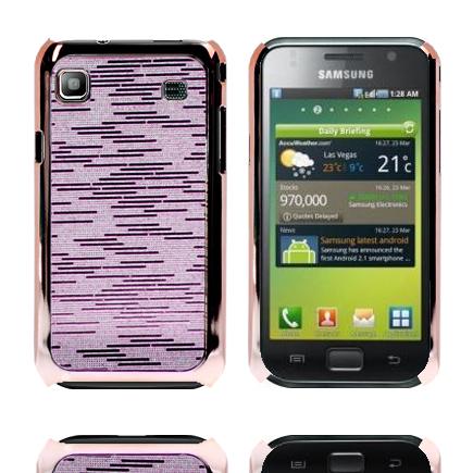 Foxtrot (Rosa) Samsung Galaxy S Skal