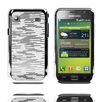 Foxtrot (Silver) Samsung Galaxy S Skal