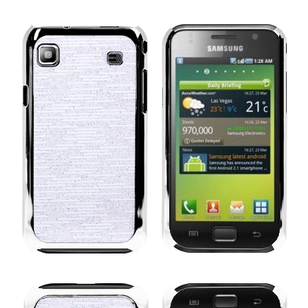 Foxtrot (Vit) Samsung Galaxy S Skal
