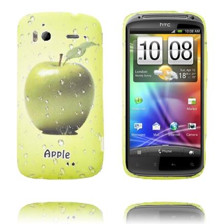 Fresh Fruit (Äpple – Grön) HTC Sensation Silikonskal