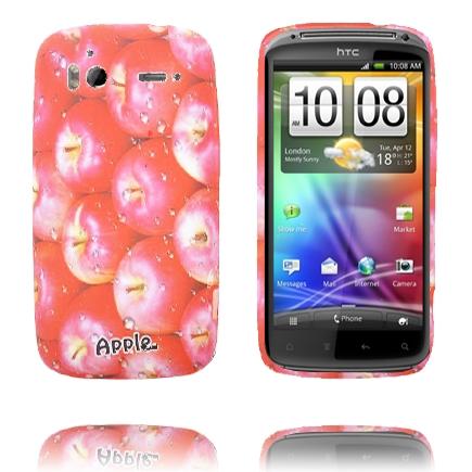 Fresh Fruit (Äpple – Röd) HTC Sensation Silikonskal