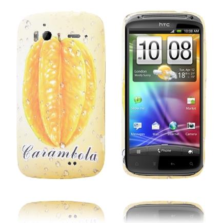 Fresh Fruit (Carambola) HTC Sensation Silikonskal