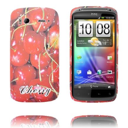 Fresh Fruit (Körsbär) HTC Sensation Silikonskal