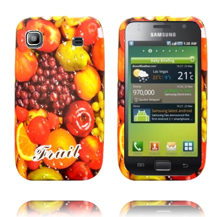 Fresh Fruit (Frukt & Druvor) Samsung Galaxy S Skal