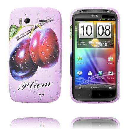 Fresh Fruit (Plommon – Lila) HTC Sensation Silikonskal