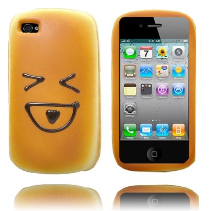 Funny Face (Stor Mun) iPhone 4 Skal