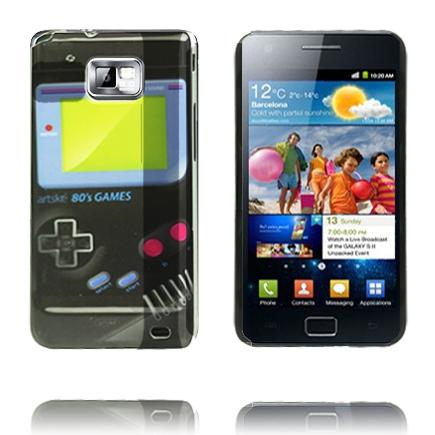 Game Boy Skal (Svart) Samsung Galaxy S2 Skal