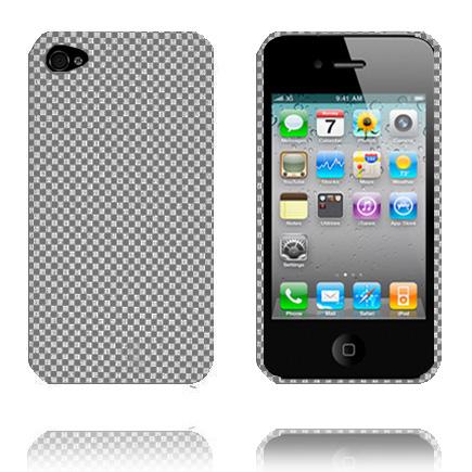 Chess (Grå och Svart) iPhone 4 Skal
