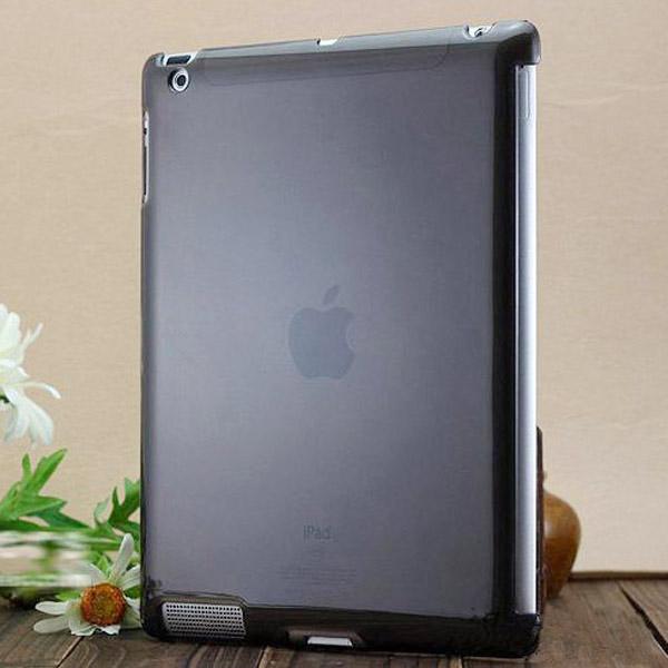 Hårdskal – Transparent (Grå) Skal för iPad 3/iPad 4