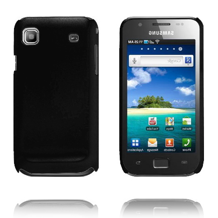 Hårdskal (Svart) Samsung i9003 Galaxy SL Skal