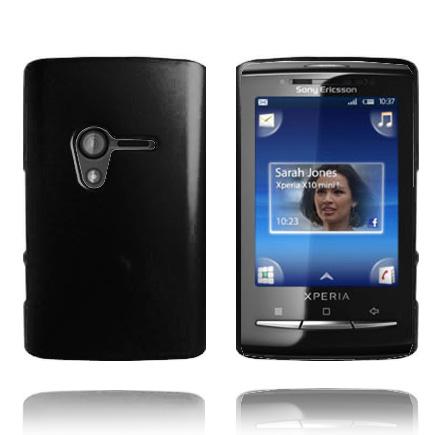 Hårdskal (Svart) Sony Ericsson Xperia X10 Mini Skal