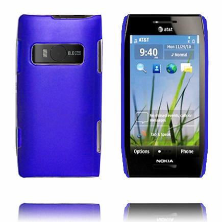 Hårdskal (Blå) Nokia X7 Skal