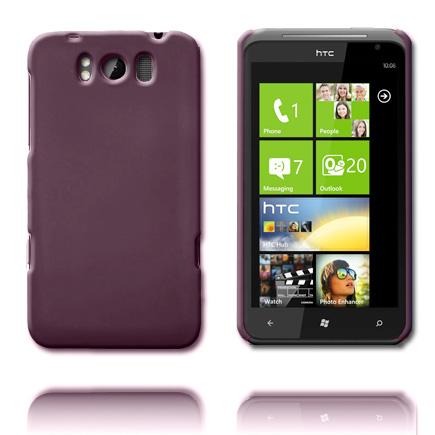 Hårdskal (Mörklila) HTC Titan Skal