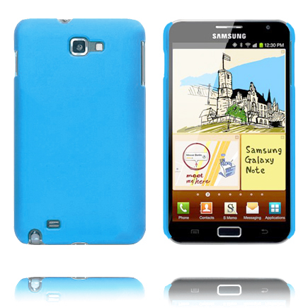 Hårdskal (Ljusblå) Samsung Galaxy Note Skal