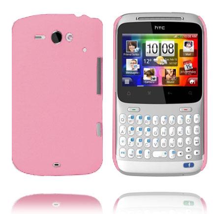 Hårdskal (Ljusrosa) HTC ChaCha Skal