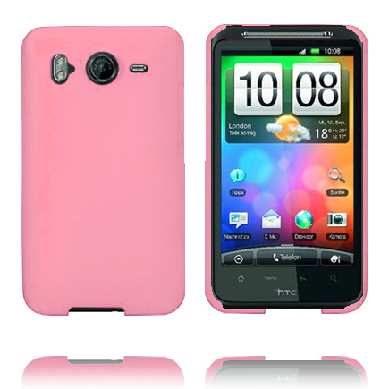 Hårdskal (Ljusrosa) HTC Desire HD Skal