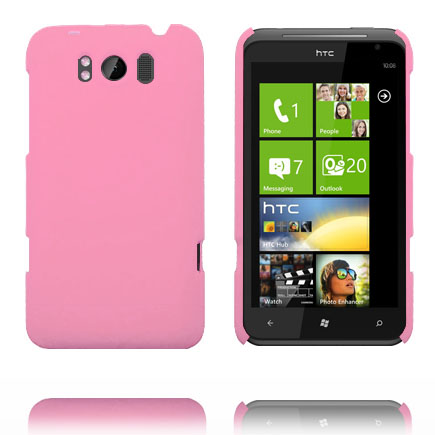 Hårdskal (Ljusrosa) HTC Titan Skal