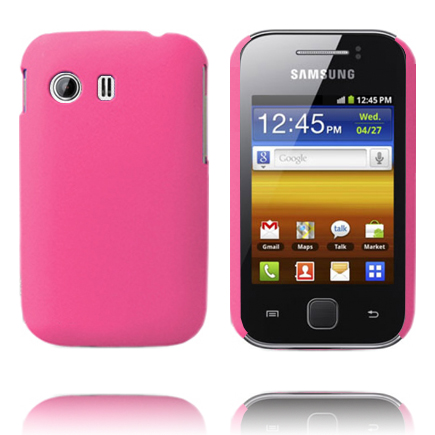 Hårdskal (Ljusrosa) Samsung Galaxy Y Skal