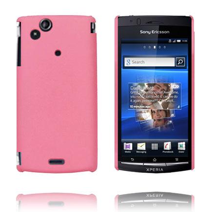 Hårdskal (Ljusrosa) Sony Ericsson Xperia Arc Skal