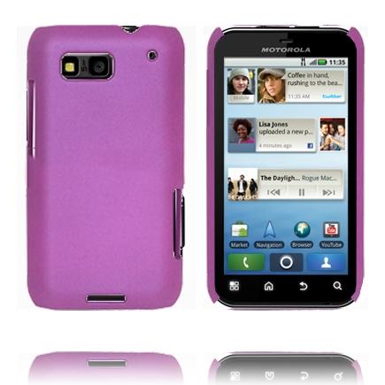 Hårdskal (Lila) Motorola Defy Skal