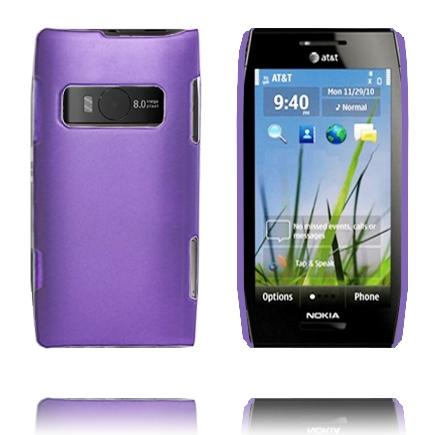 Hårdskal (Lila) Nokia X7 Skal