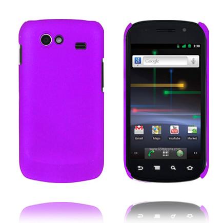 Hårdskal (Lila) Samsung i9020 Google Nexus S Skal