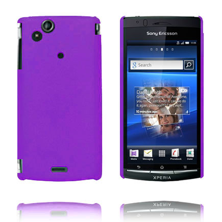Hårdskal (Lila) Sony Ericsson Xperia Arc Skal