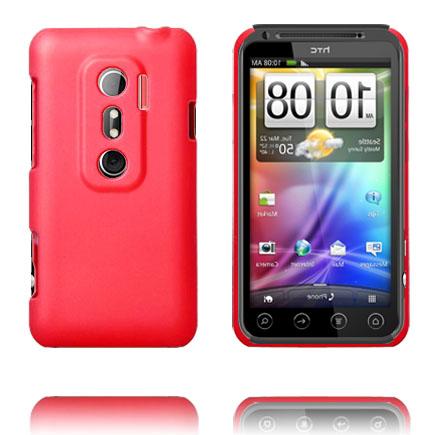 Hårdskal (Röd) HTC Evo 3D Skal