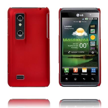 Hårdskal (Röd) LG Optimus 3D Skal