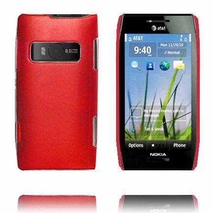 Hårdskal (Röd) Nokia X7 Skal