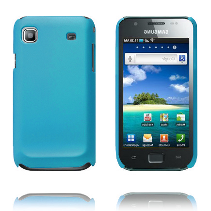 Hårdskal (Ljusblå) Samsung i9003 Galaxy SL Skal