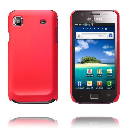 Hårdskal (Röd) Samsung i9003 Galaxy SL Skal