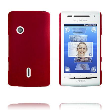 Hårdskal (Röd) Sony Ericsson Xperia X8 Skal