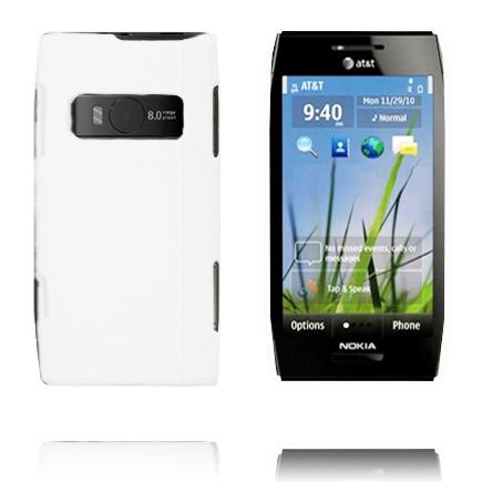 Hårdskal (Vit) Nokia X7 Skal