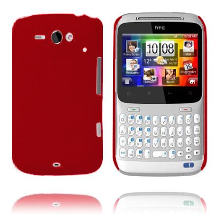 Hårdskal (Röd) HTC ChaCha Skal