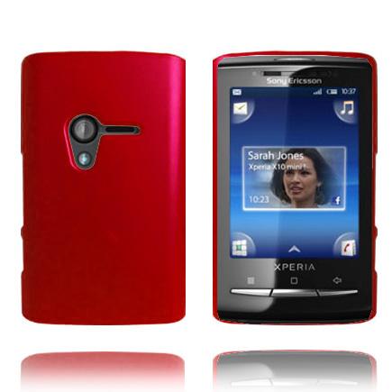 Hårdskal (Röd) Sony Ericsson Xperia X10 Mini Skal