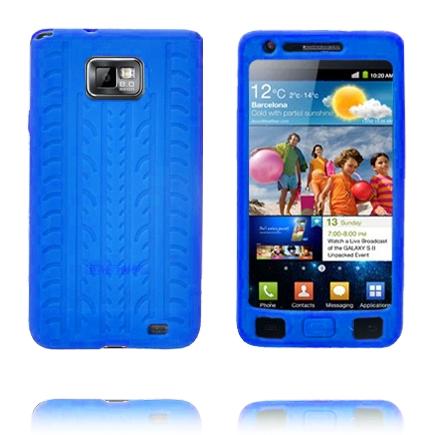 Highway (Blå) Samsung Galaxy S2 Skal