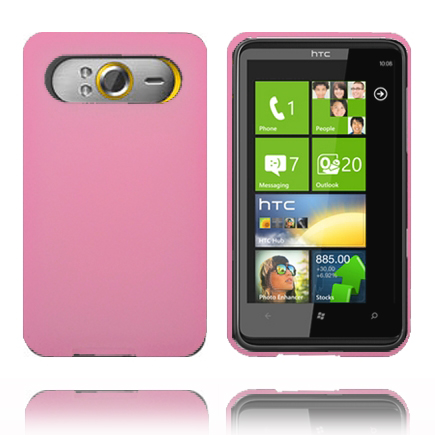 Mjukskal (Rosa) HTC HD7 Skal