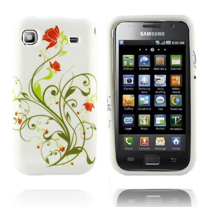 Spring Trädgård (Grön Blomma) Samsung Galaxy S Skal