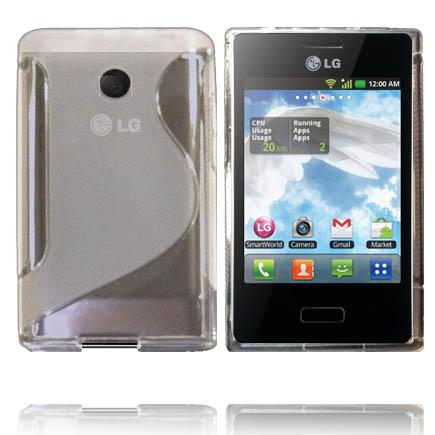 Transparent S-Line (Klar) LG Optimus L3 Skal