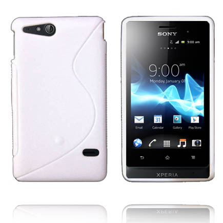 Solid S-Line (Vit) Sony Xperia Go Skal