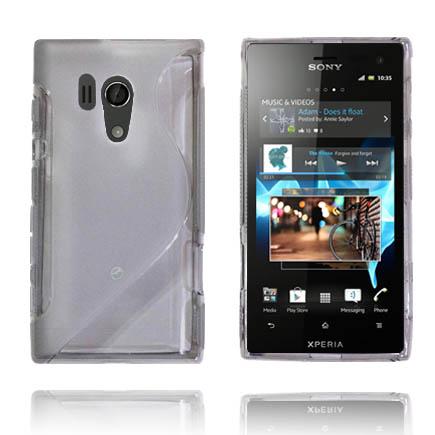 Transparent S-Line (Vit) Sony Xperia Acro S Skal