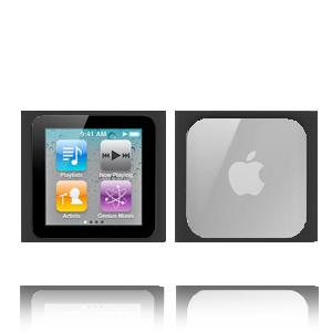 iMpact 6G (Svart) iPod Nano 6 Skal