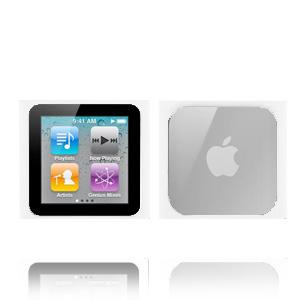 iMpact 6G (Vit) iPod Nano 6 Skal