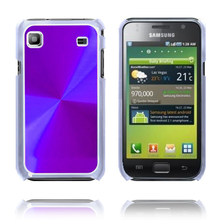 Impact Alu-Back (Lila) Samsung Galaxy S Skal