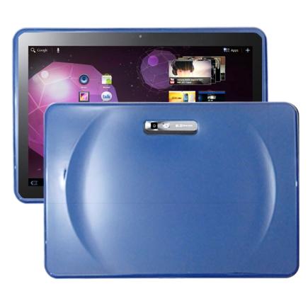 Impact (Blå) Samsung Galaxy Tab 10.1 Silikonskal