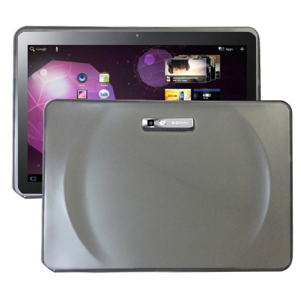 Impact (Grå) Samsung Galaxy Tab 10.1 Silikonskal